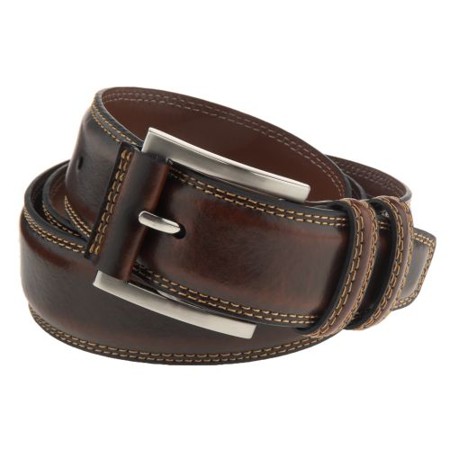 Magellan Outdoors Men's Contrast-Stitch Belt