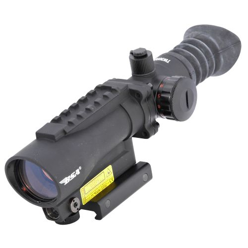 BSA Tactical Weapon Illuminated Red Dot Scope