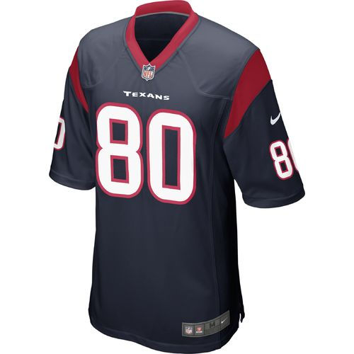 Nike Men s Houston Texans Andre Johnson #80 Game Jersey