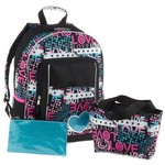 Accessories 22 Girls' Love Patch Backpack