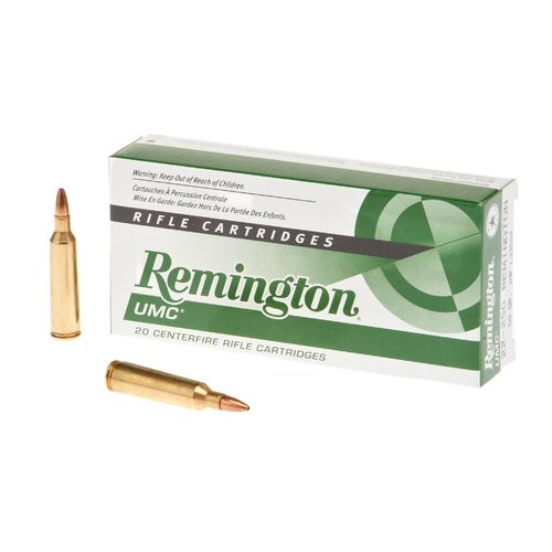 Remington UMC .22-250 Remington 50-Grain Centerfire Rifle Ammunition