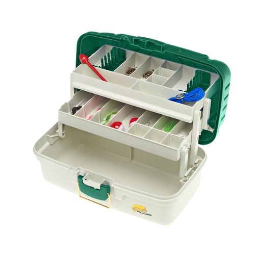 Academy ready 2 fish 136 piece 3 tray tackle box kit for Ready 2 fish