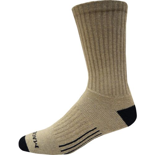 Magellan Footwear Men's Rugged Outdoor/Work Crew Socks