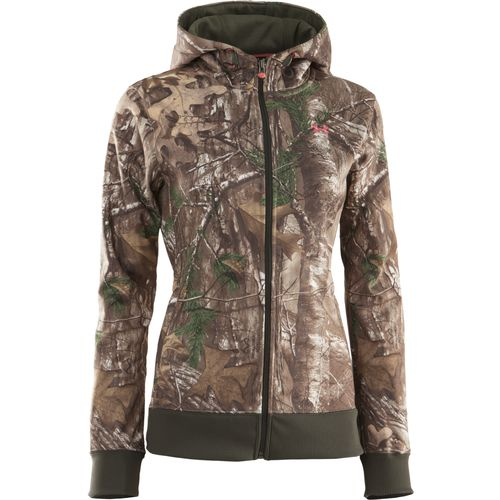 Under Armour  Women s Camouflage Full Zip Hoodie