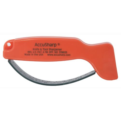 AccuSharp® Blaze Orange Knife and Tool Sharpener - view number 2