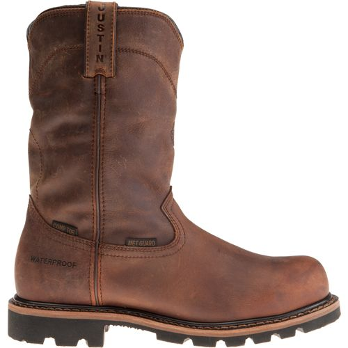 Display product reviews for Justin Men's Wellington Work Boots