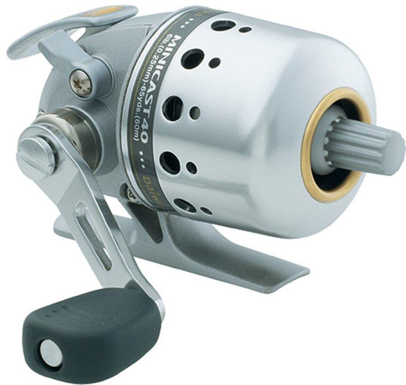 Daiwa Silvercast Minicast 40 MC40-CP Spincast Reel Convertible