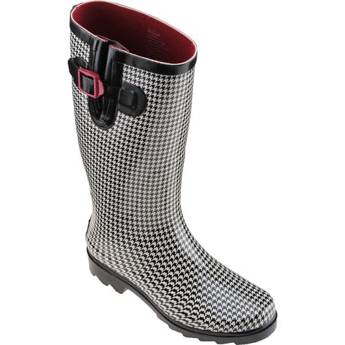 Austin Trading Co. Women's Houndstooth Rubber Boots - view number 2