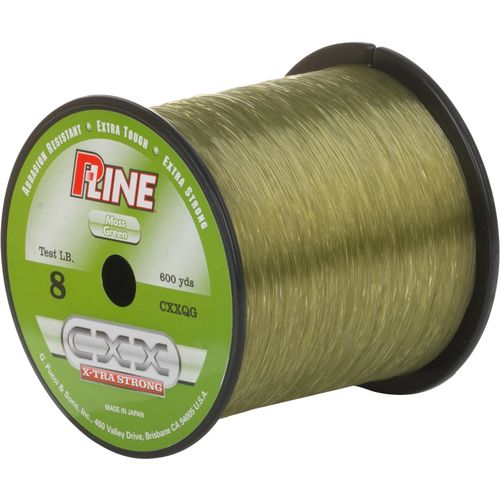 P-Line CXX X-Tra Strong 8 lb. - 600 yards Copolymer Fishing Line - view number 1