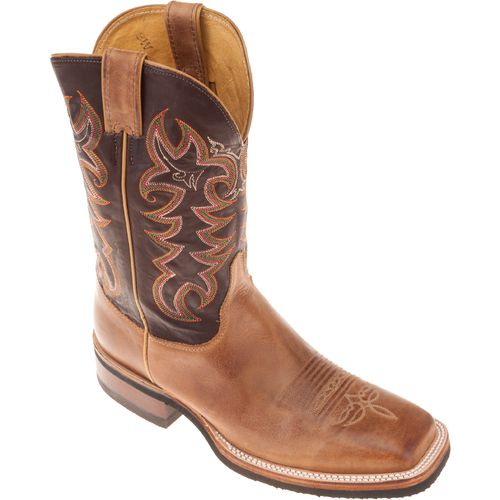 Justin Men's AQHA Q-CREPE® America Cowhide Western Boots - view number 3