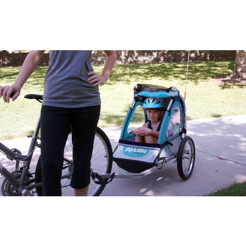 Allen Sports SST1 2-in-1 Hitch-Mounted Bike Trailer/Jogger - view number 5