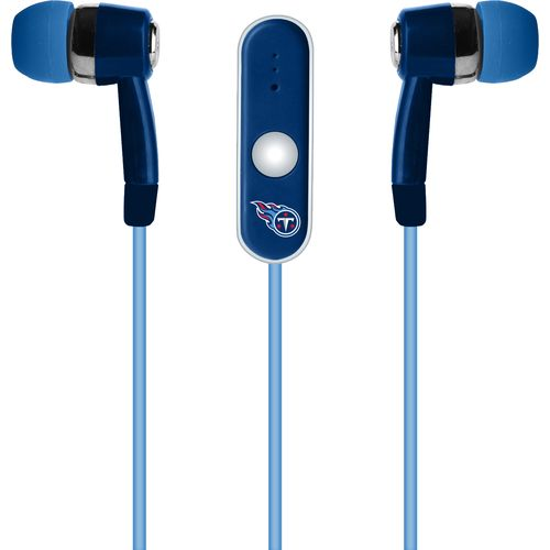Mizco Tennessee Titans Stereo Hands-Free Earbuds