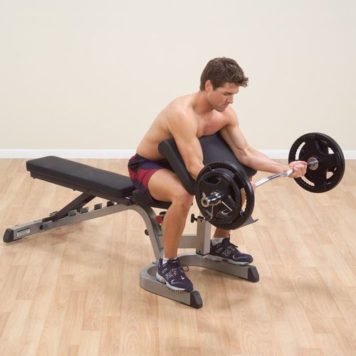 Body-Solid Preacher Curl Attachment