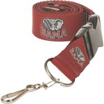 NCAA Adults' University of Alabama 2-Tone Lanyard