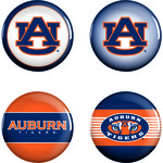 WinCraft Auburn University Buttons 4-Pack