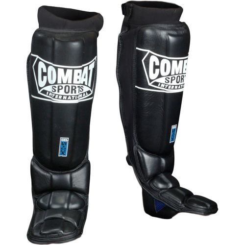 Combat Sports International Adults' Gel Shock™ Pro-Style Grappling Shin Guards - view number 1