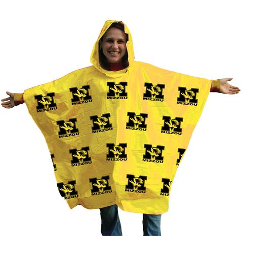 Storm Duds Adults' University of Missouri Lightweight Stadium Poncho