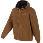 Carhartt Men's Louisiana State University Quilted Flannel Lined Sandstone Jacket