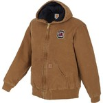 Carhartt Men's University of South Carolina Quilted Flannel Lined Sandstone Active Jacket