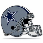 Rico Dallas Cowboys Helmet Die-Cut Pennant
