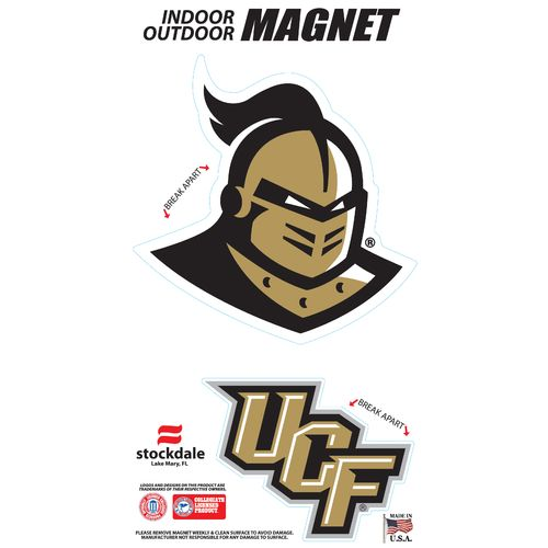 Stockdale University of Central Florida Logo Magnets 2-Pack