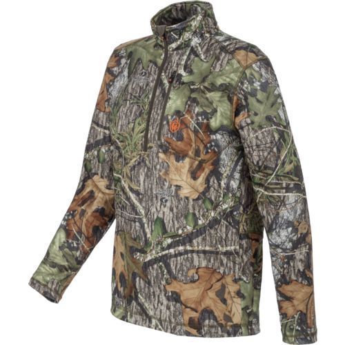 Display product reviews for Game Winner Men's Fulton Camo 1/4 Zip Long Sleeve Shirt