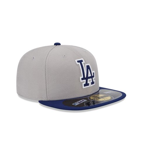 New Era Men's Los Angeles Dodgers 2015 Road Diamond Era Cap - view number 2