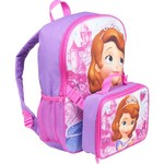 Disney Sofia the First Backpack with Lunch Combo