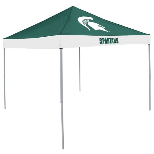 Logo Michigan State University Straight-Leg 9 ft x 9 ft Economy Tent