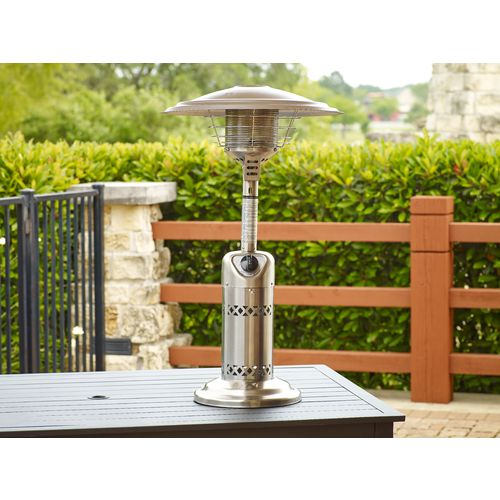 Bon ... Mosaic Stainless Steel Propane Table Top Heater   View Number 2 ...
