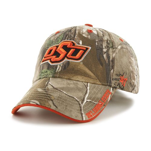 '47 Adults' Oklahoma State University Realtree Frost Camo MVP Cap