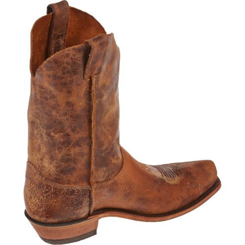 Justin Men's Cracked Bent Rail Boots - view number 3
