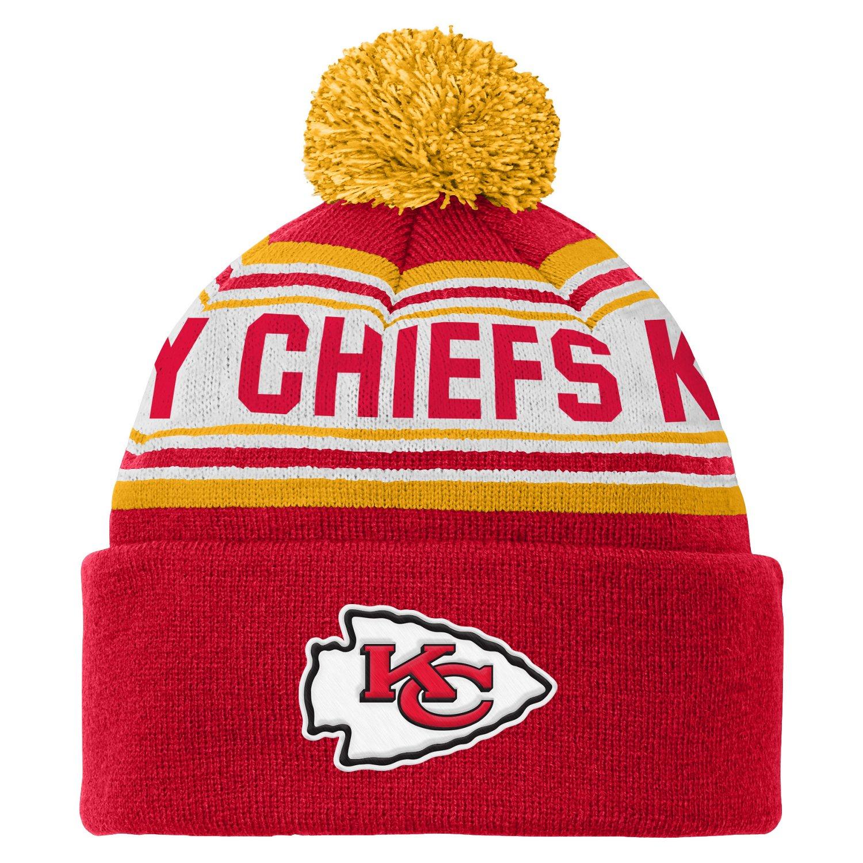 NFL Kids' Kansas City Chiefs Cuffed Knit Cap