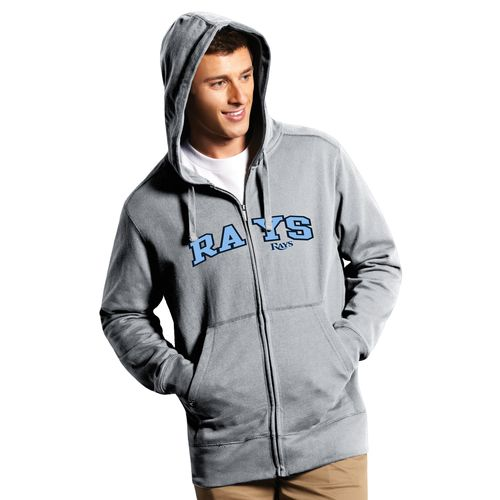 Antigua Men's Tampa Bay Rays Signature Full Zip Hoodie