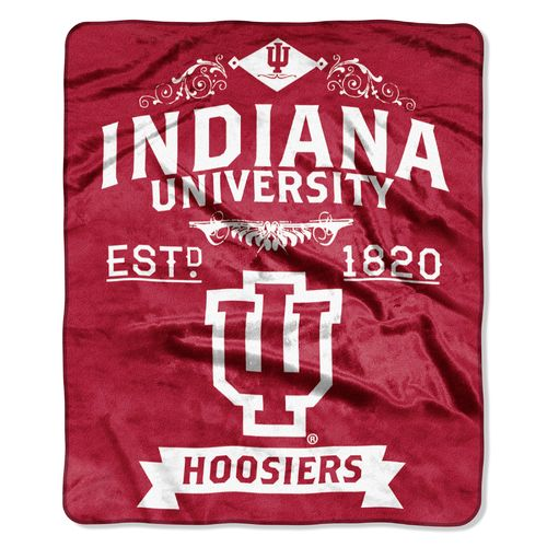 The Northwest Company Indiana University Label Raschel Throw