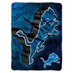 The Northwest Company Detroit Lions Bevel Micro Raschel Throw