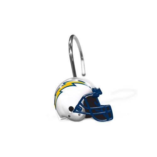The Northwest Company San Diego Chargers Shower Curtain Rings 12-Pack