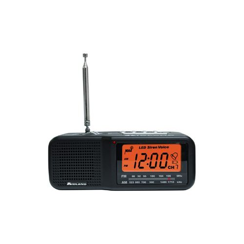 Midland 7-Channel Desktop Alarm Clock/Weather Alert Radio