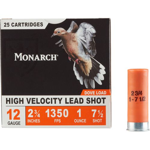 Monarch® Light Dove 12 Gauge 7.5 shot Shotshells