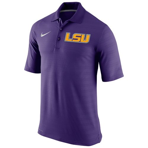 Nike™ Men's Louisiana State University Champ Drive Polo Shirt
