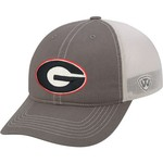 Top of the World Adults' University of Georgia Putty Cap