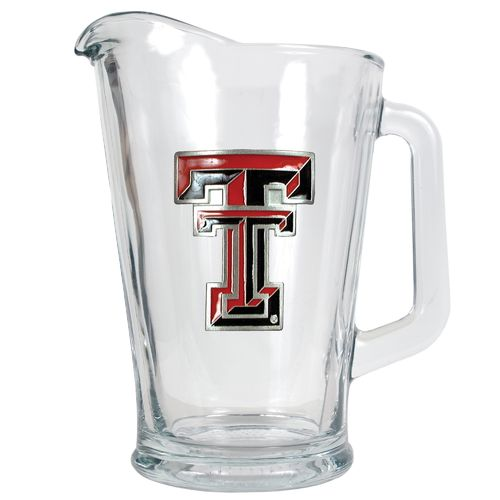 Great American Products Texas Tech University 1/2-Gallon Glass Pitcher