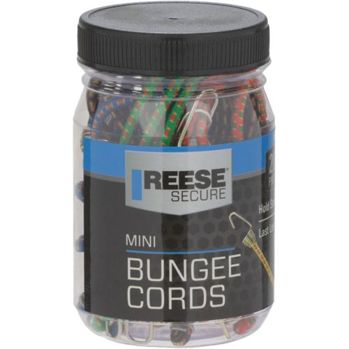 Reese Mini Bungee Cords 20-Pack