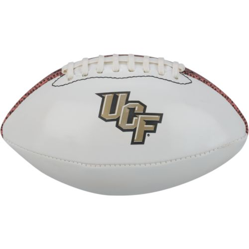 Baden University of Central Florida Mini Size Autograph Football