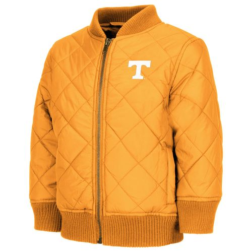 Colosseum Athletics Toddler Boys' University of Tennessee Roger Captain Bomber Jacket