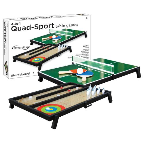 Westminster 4-in-1 Quad Sport Table Games