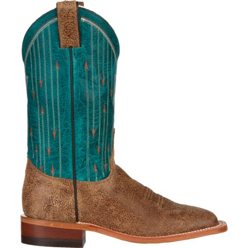 Justin Women's Bent Rail Cracked Cowhide Western Boots