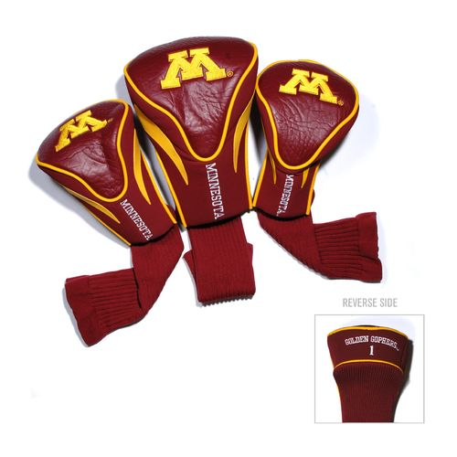 Team Golf University of Minnesota Contour Sock Head Covers 3-Pack