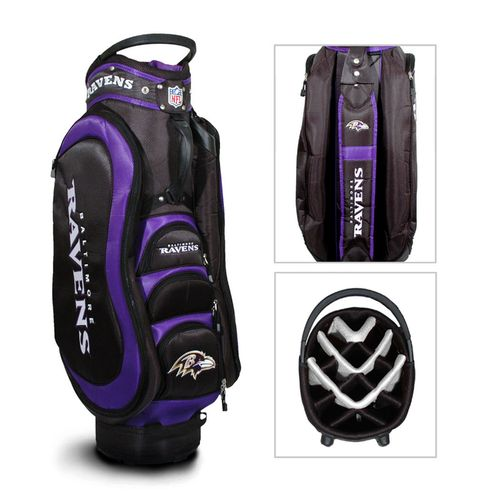 Team Golf Baltimore Ravens Medalist 14-Way Cart Golf