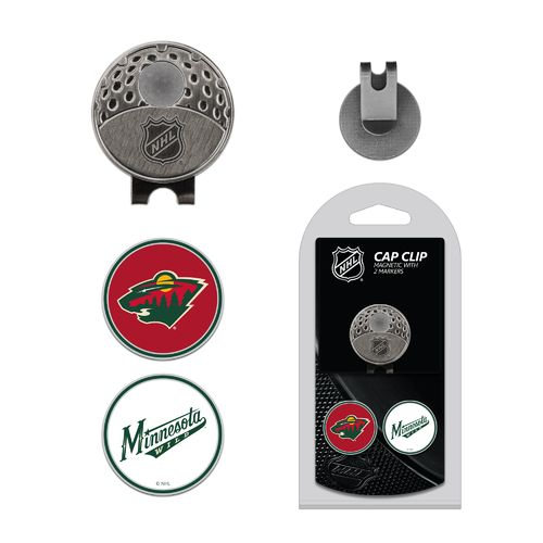 Team Golf Minnesota Wild Marker Cap Clip - view number 1